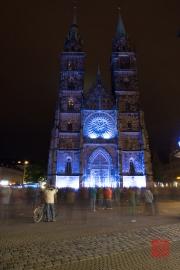 Blaue Nacht 2014 - Lorenzkirche