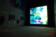 Blaue Nacht 2014 - Germanisches Nationalmuseum - Light installation