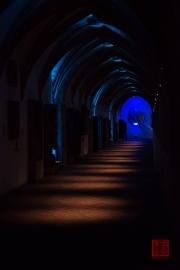 Blaue Nacht 2014 - Germanisches Nationalmuseum - Corridor