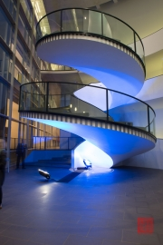 Blaue Nacht 2014 - Neues Museum - Stairs I