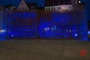 Blaue Nacht 2014 - Neues Museum - Metal construction