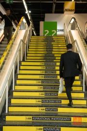Photokina 2014 - Nikon Stairs