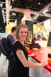 Photokina 2014 - Kodak Tattoo