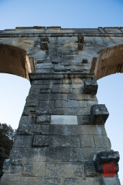 Nimes 2014 - Aqueduct - Pile