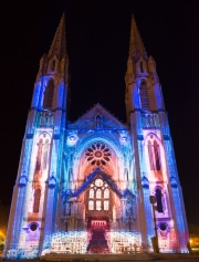 Nimes 2014 - Eglise Saint Baudile - Inside