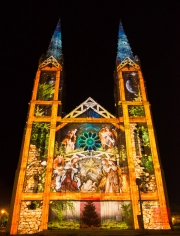 Nimes 2014 - Eglise Saint Baudile - Christmas