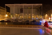 Nimes 2014 - Museum of Modern Art by Night