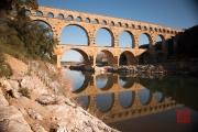 Nimes 2014 - Aqueduct - Aqueduct & River