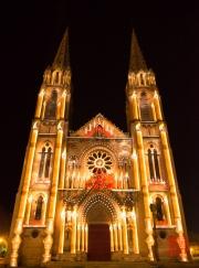 Nimes 2014 - Eglise Saint Baudile - Candles