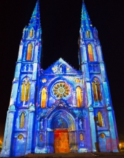 Nimes 2014 - Eglise Saint Baudile - Impressionism