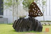 Hongkong 2014 - Butterfly Sculpture
