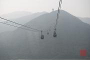 Hongkong 2014 - Inside the Cable Car