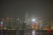 Hongkong 2014 - Skyline - Bank of China by Night