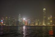 Hongkong 2014 - Skyline Hongkong Island - H&M & Bank of China & IFC Tower