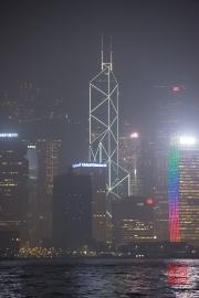 Hongkong 2014 - Bank of China by Night