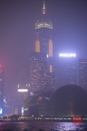 Hongkong 2014 - Central Plaza by Night