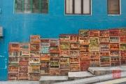 Hongkong 2014 - Wall-Painting - Houses