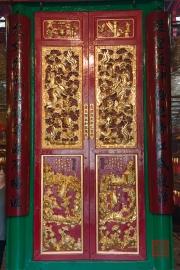 Hongkong 2014 - Man Mo Temple - Doors