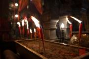 Hongkong 2014 - Man Mo Temple - Candles I