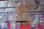 Hongkong 2014 - Man Mo Temple - Incense cane