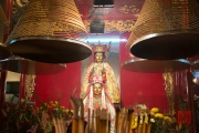 Hongkong 2014 - Man Mo Temple - Shrine