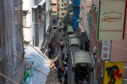 Hongkong 2014 - City Escalators