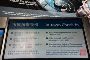 Hongkong 2014 - In-town Check-in