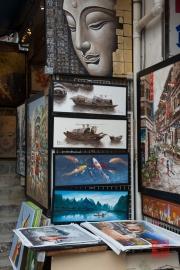 Hongkong 2014 - Stanley Harbour - Paintings