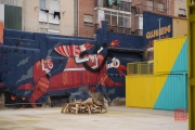 Saragossa 2014 - Street Art - Rider