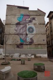 Saragossa 2014 - Street Art - Undying Love