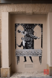 Saragossa 2014 - Street Art - Magican