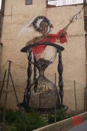 Saragossa 2014 - Street Art - Sandclock