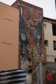 Saragossa 2014 - Street Art - Birds