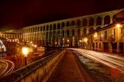 Segovia 2014 - Aquaduct & Streets by Night