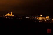 Segovia 2014 - View Cathedral & Castle by Night