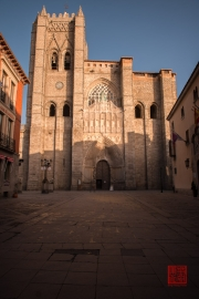 Avila 2014 - Cathedral Front