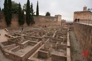 Granada 2015 - Alhambra - Ruins II
