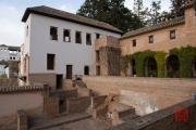 Granada 2015 - Alhambra - Generalife - Back