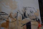 Granada 2015 - Graffiti - Sleeping
