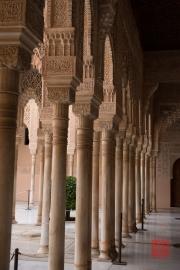 Granada 2015 - Alhambra - Hallway