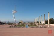 Barcelona 2015 - Anella Olímpica & Telefonica Tower