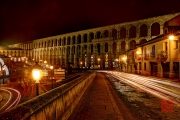 Segovia 2014 - Aquaduct & Streets by Night