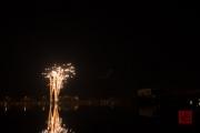 Nuremberg Spring Fair Fireworks 2015 - Gold Pearls