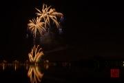 Nuremberg Spring Fair Fireworks 2015 - Gold & Blue