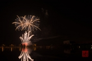 Nuremberg Spring Fair Fireworks 2015 - White & Blue