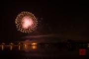 Nuremberg Spring Fair Fireworks 2015 - Gold & Purple