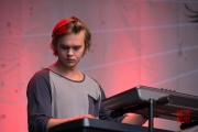Folk Im Park 2015 - Junius Meyvant - Synths