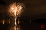 Volksfest 2015 - Opening Fireworks - Gold