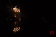Volksfest 2015 - Mid Fireworks - Gold & Purple