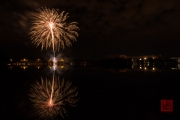 Volksfest 2015 - Mid Fireworks - Gold & Red I